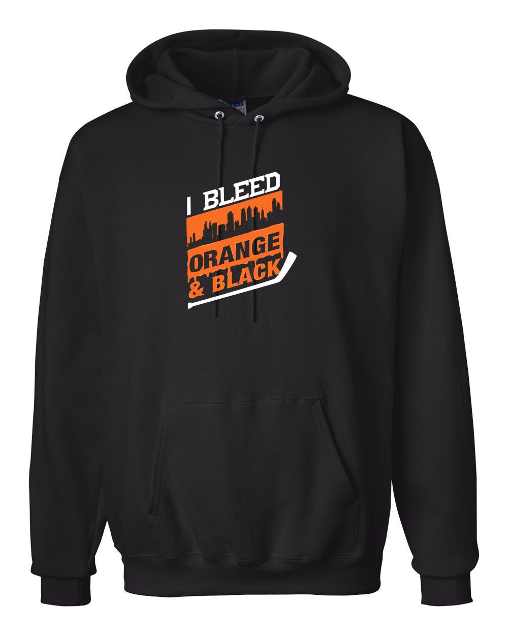 I Bleed Orange and Black Hoodie