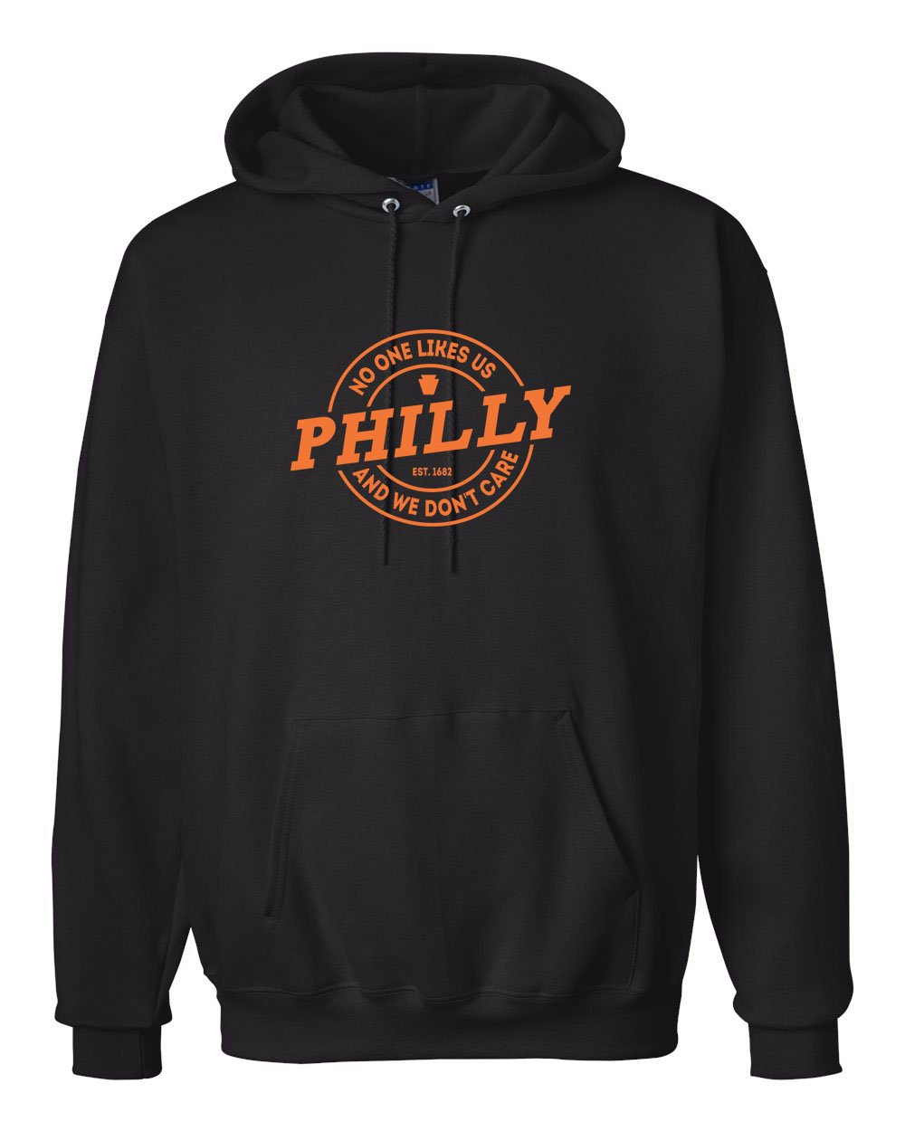 NOLU Orange Ink Hoodie