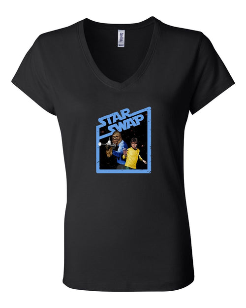 Star Swap LADIES Junior Fit V-Neck