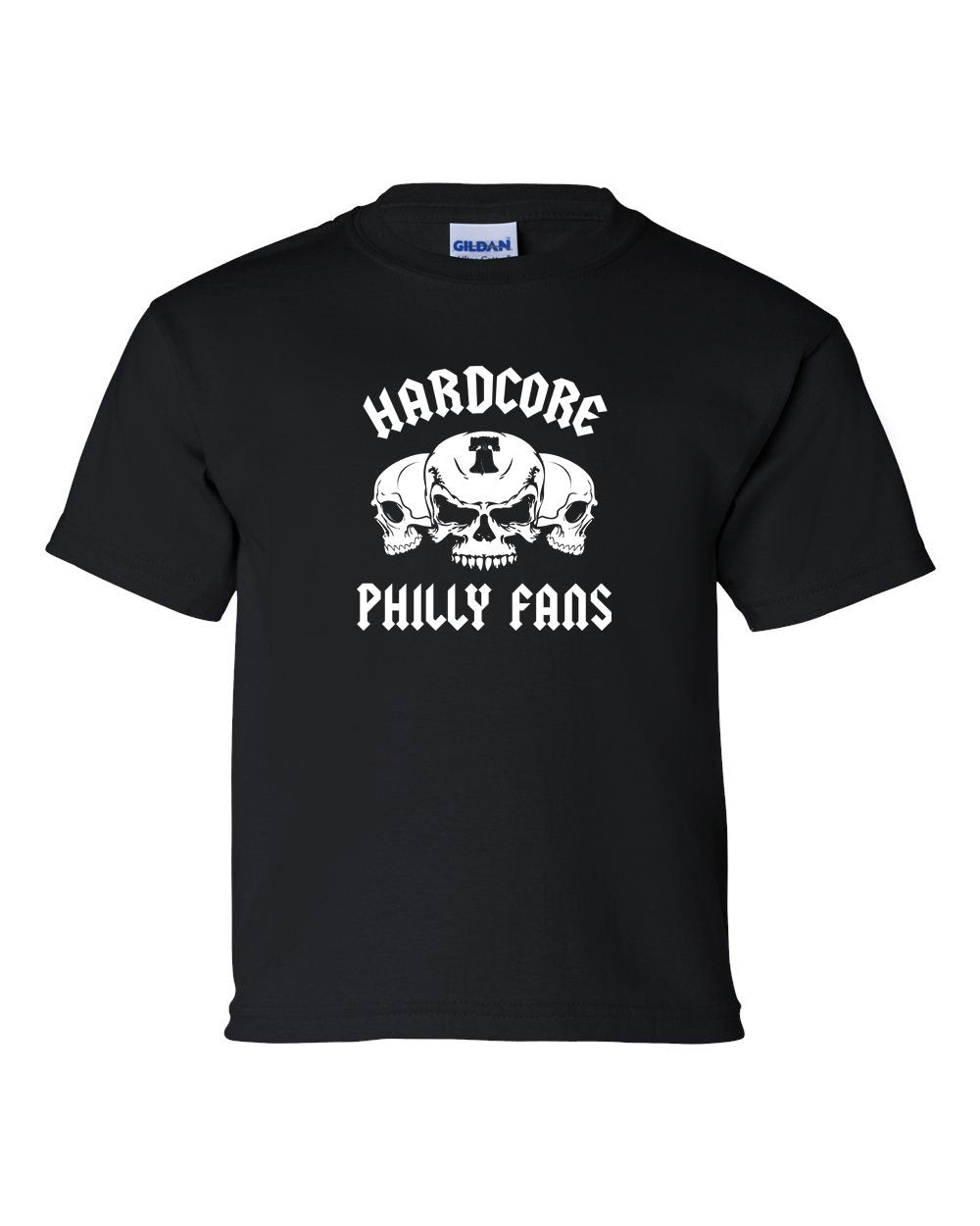 Hardcore Philly Fans KIDS T-Shirt