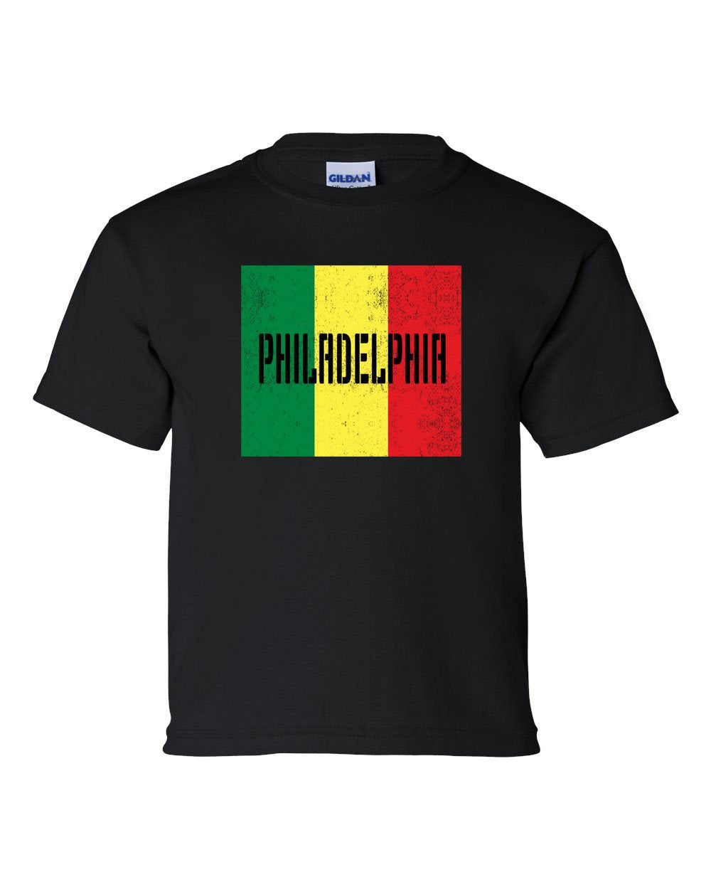 Rasta Philly Flag KIDS T-Shirt