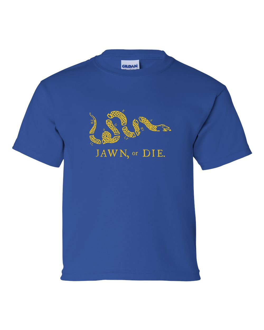 Jawn or Die Yellow Ink KIDS T-Shirt