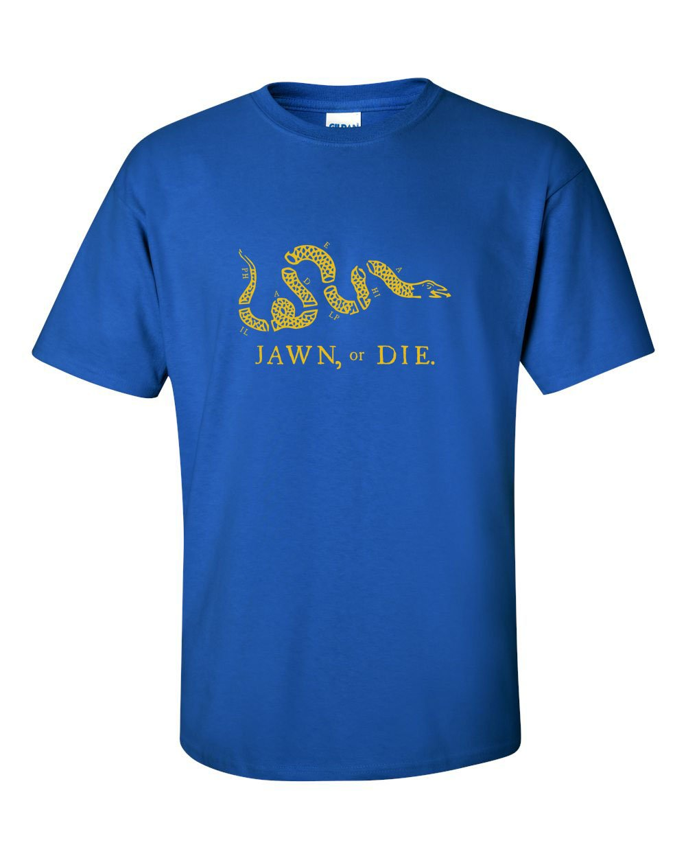 Jawn or Die Yellow Ink Mens/Unisex T-Shirt