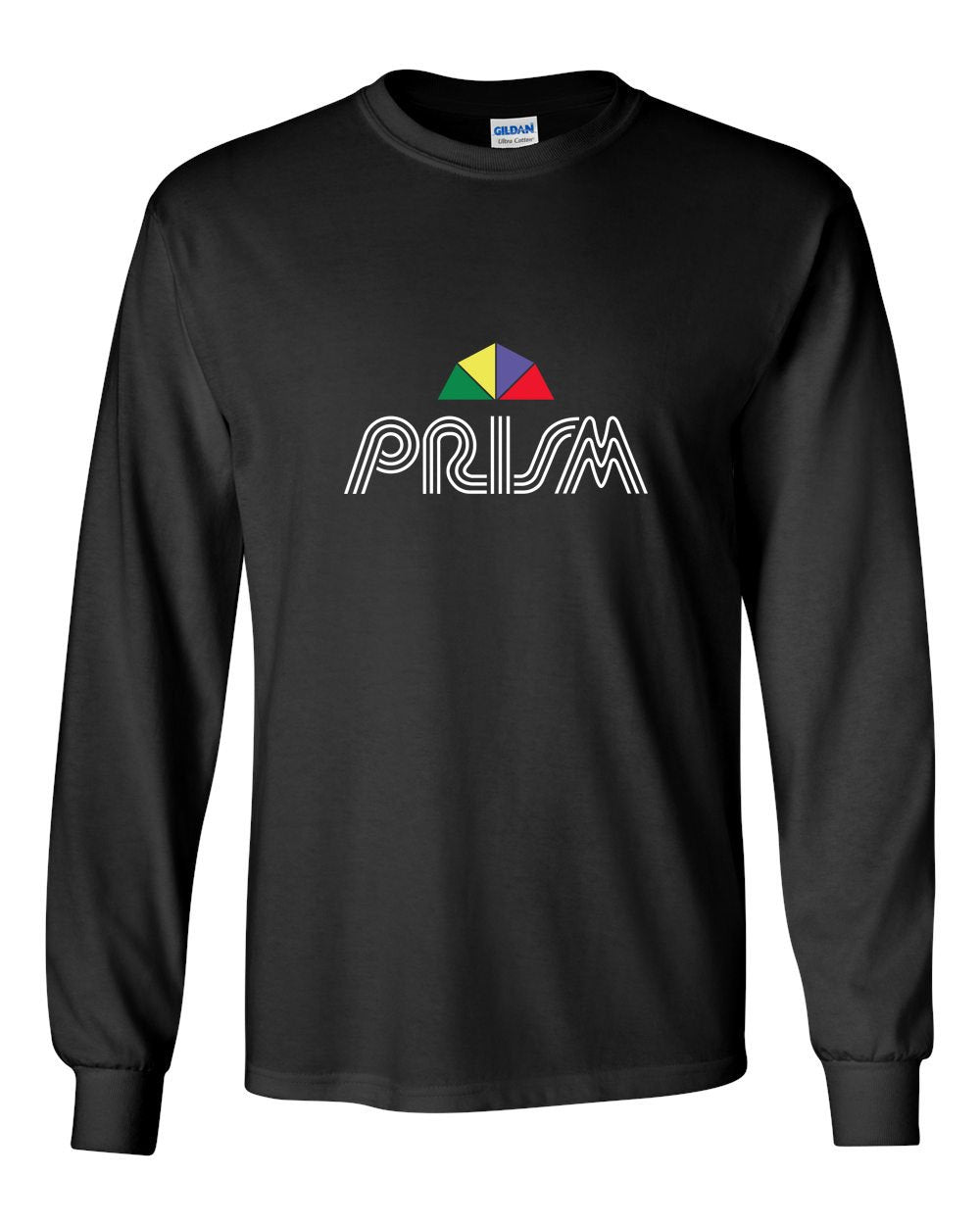 Prism MENS Long Sleeve Heavy Cotton T-Shirt