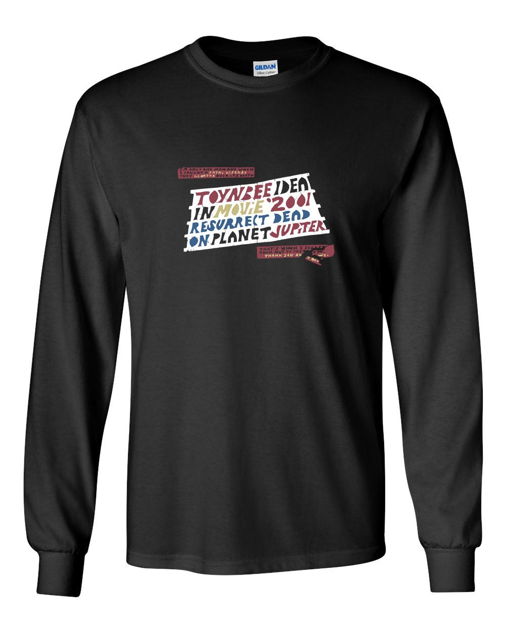 Toynbee MENS Long Sleeve Heavy Cotton T-Shirt