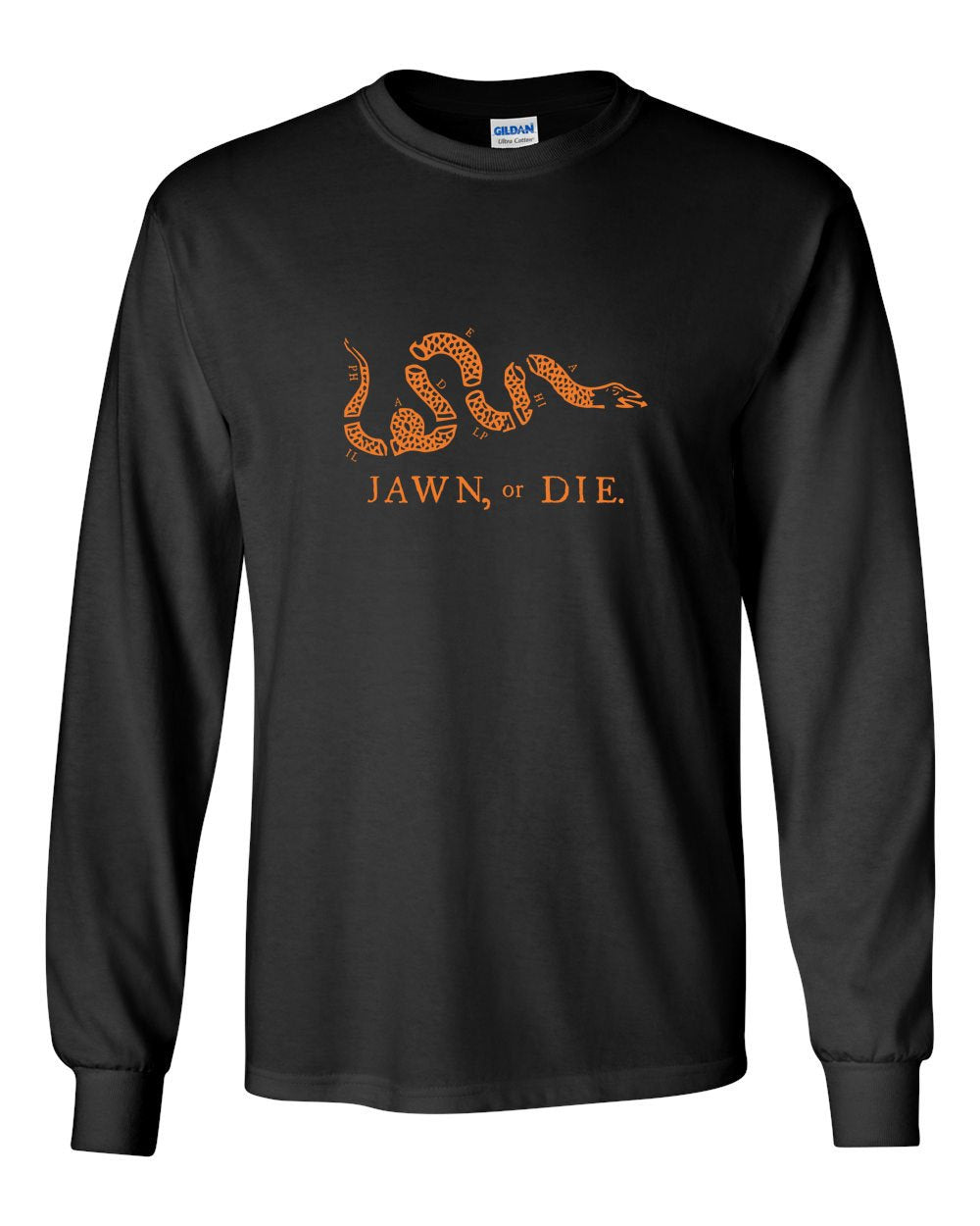 Jawn or Die (Hockey) MENS Long Sleeve Heavy Cotton T-Shirt