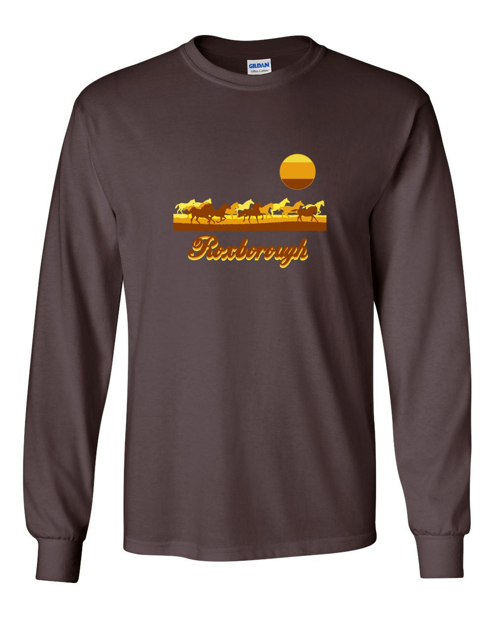 Roxborough MENS Long Sleeve Heavy Cotton T-Shirt