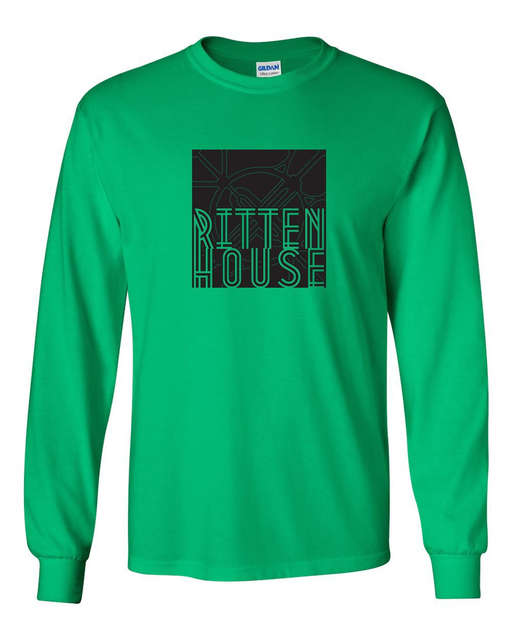 Rittenhouse MENS Long Sleeve Heavy Cotton T-Shirt