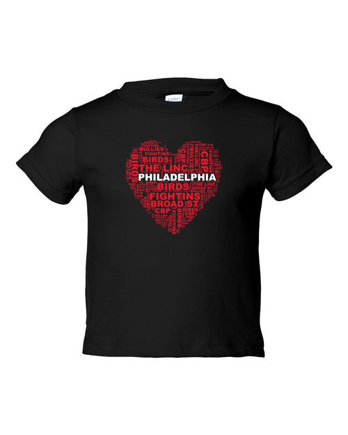 Philly Heart TODDLER T-Shirt