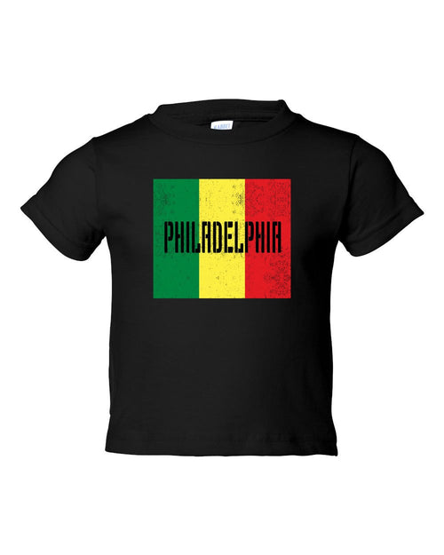 Rasta Philly Flag TODDLER T-Shirt