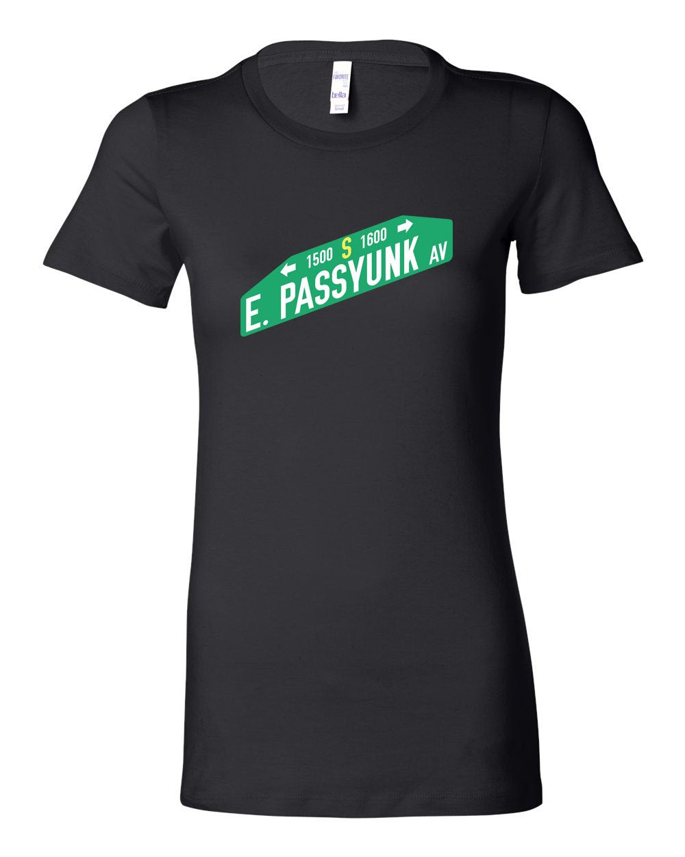 East Passyunk LADIES Junior-Fit T-Shirt