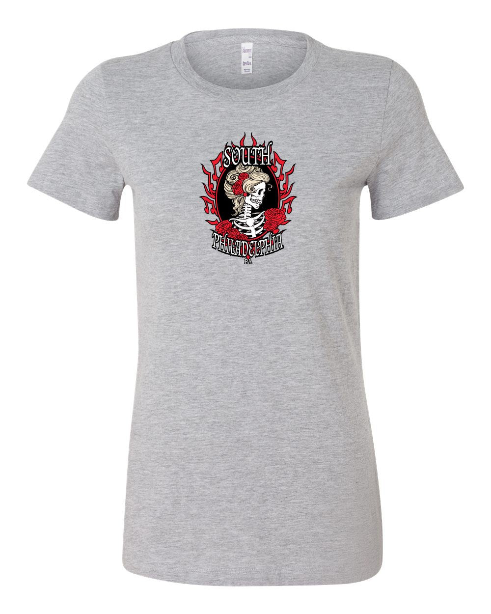 South Philly Dead LADIES Junior-Fit T-Shirt