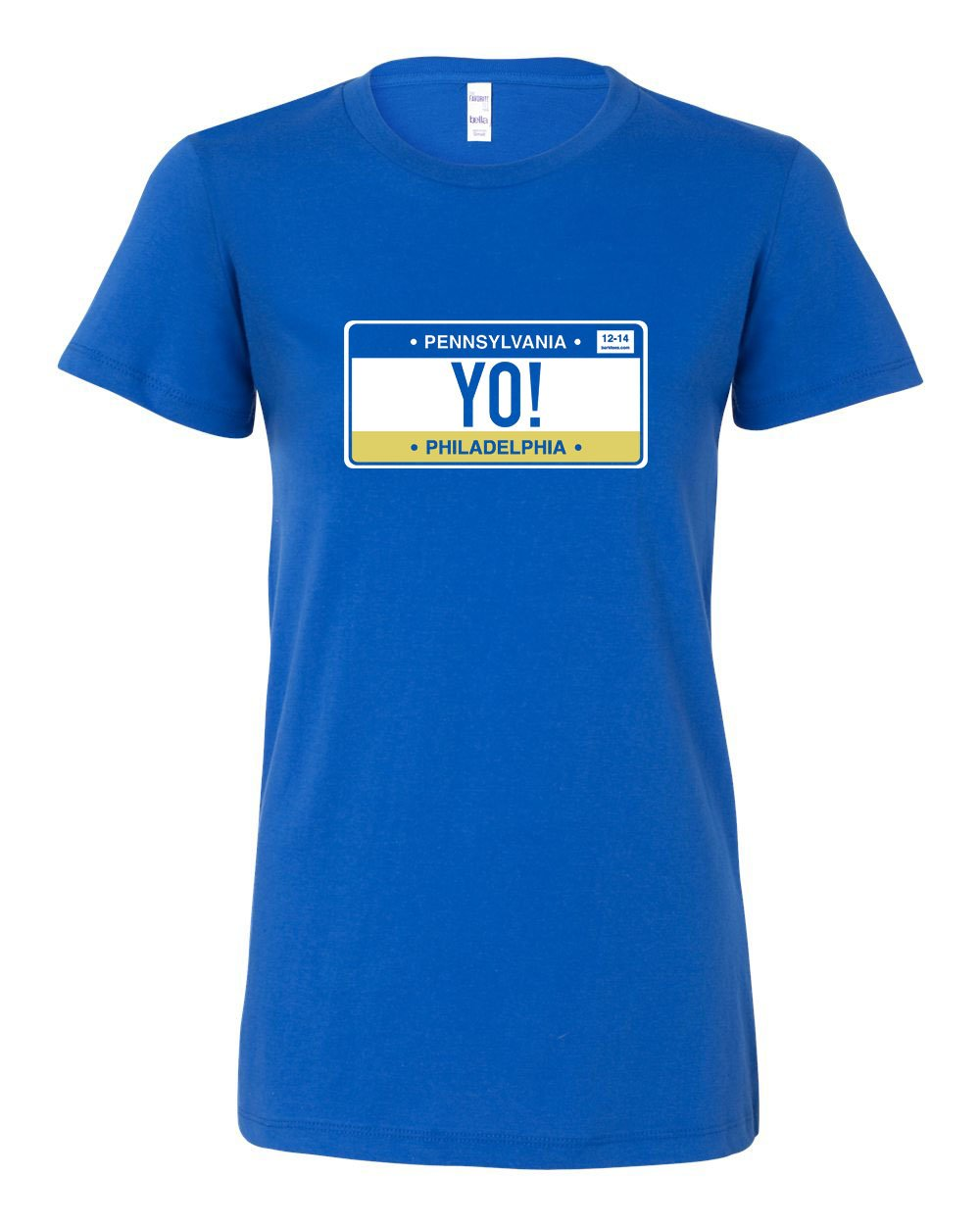Yo Philly! LADIES Junior-Fit T-Shirt