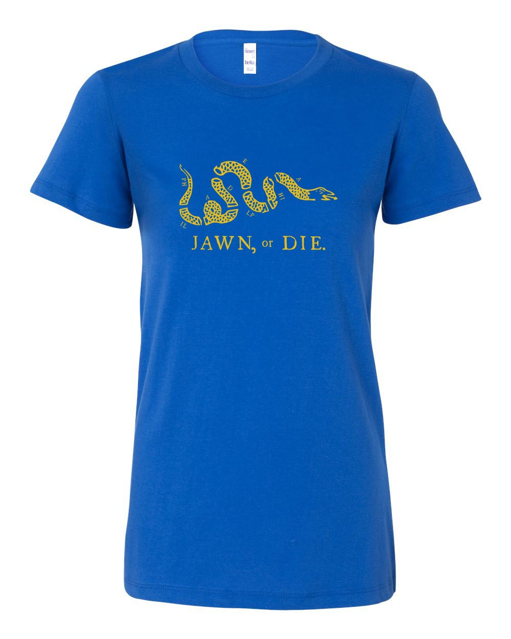 Jawn or Die Yellow Ink LADIES Junior-Fit T-Shirt