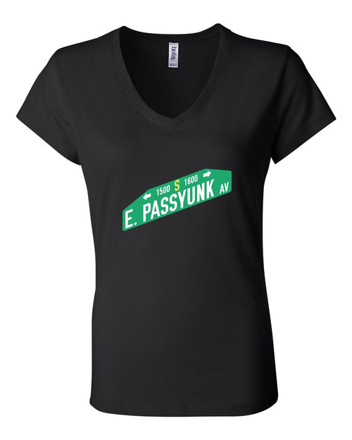 East Passyunk LADIES Junior Fit V-Neck