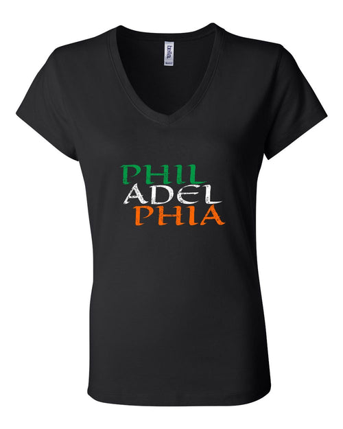Irish Philadelphia LADIES Junior Fit V-Neck