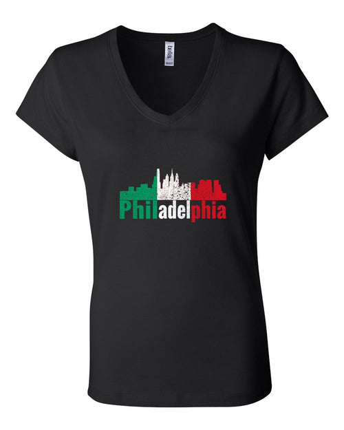 Italian Philly LADIES Junior Fit V-Neck
