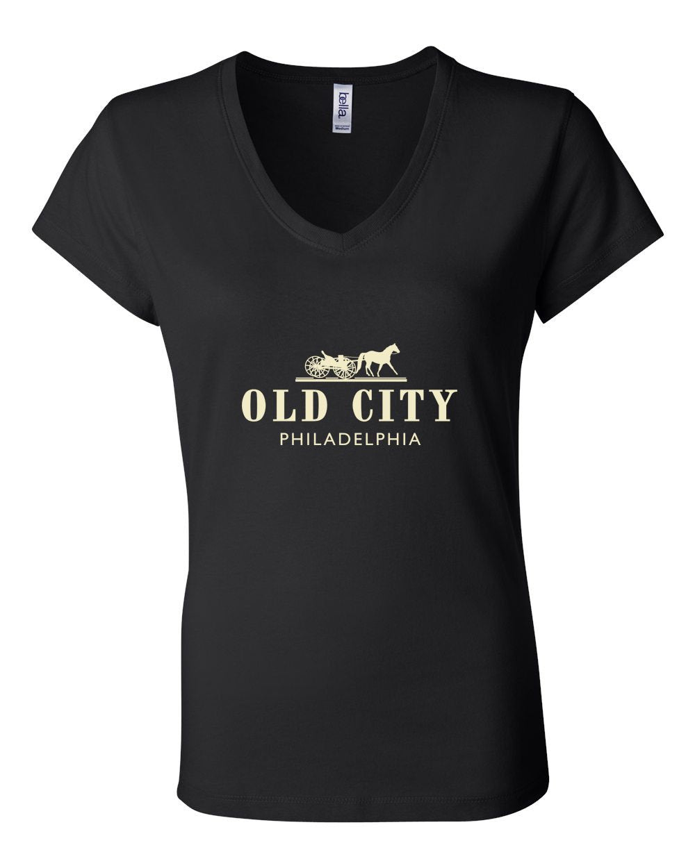 Old City LADIES Junior Fit V-Neck
