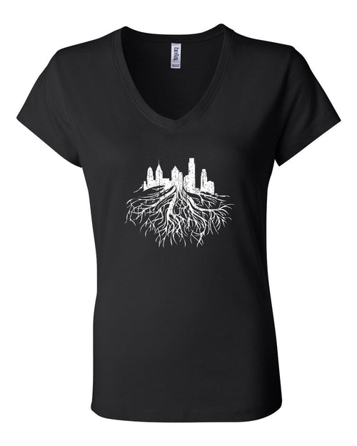 Philly Roots LADIES Junior Fit V-Neck