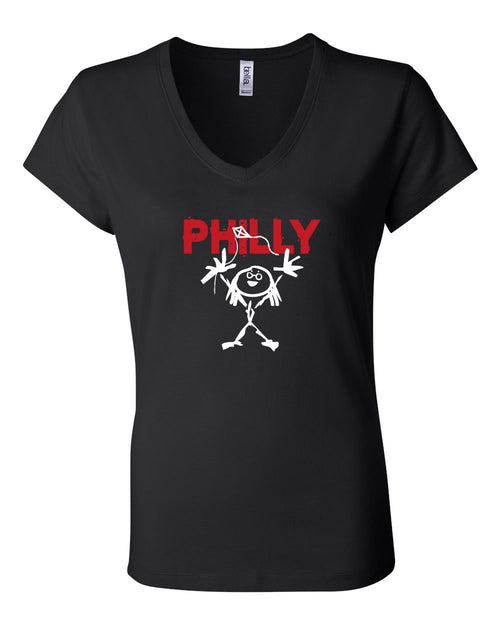 Philly PJ LADIES Junior Fit V-Neck