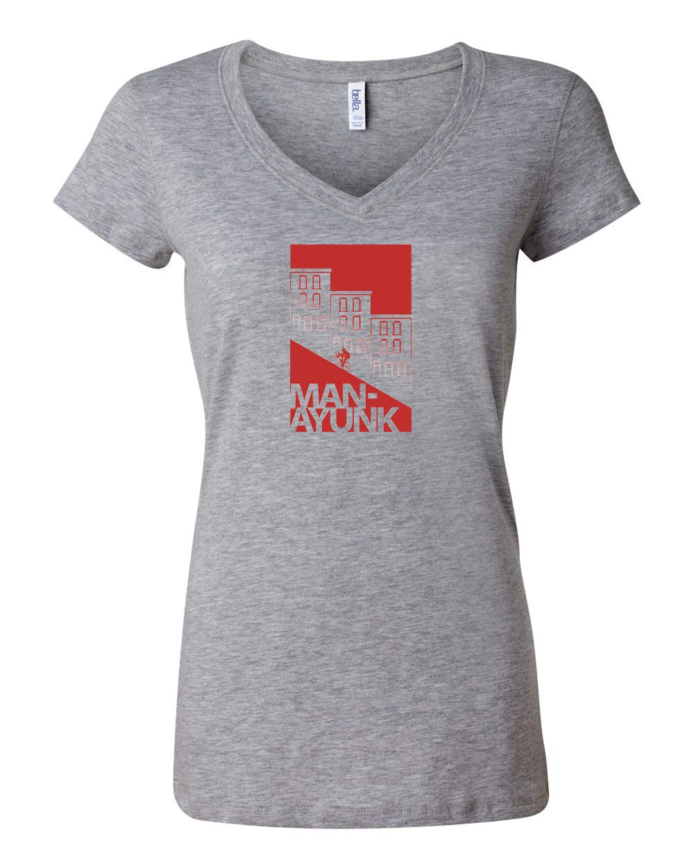 Manayunk LADIES Junior Fit V-Neck