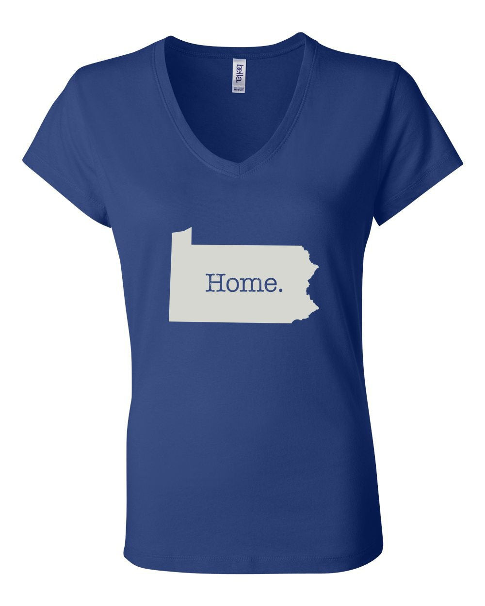 PA Home LADIES Junior Fit V-Neck