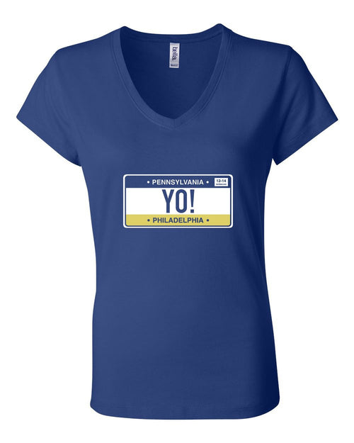 Yo Philly! LADIES Junior Fit V-Neck