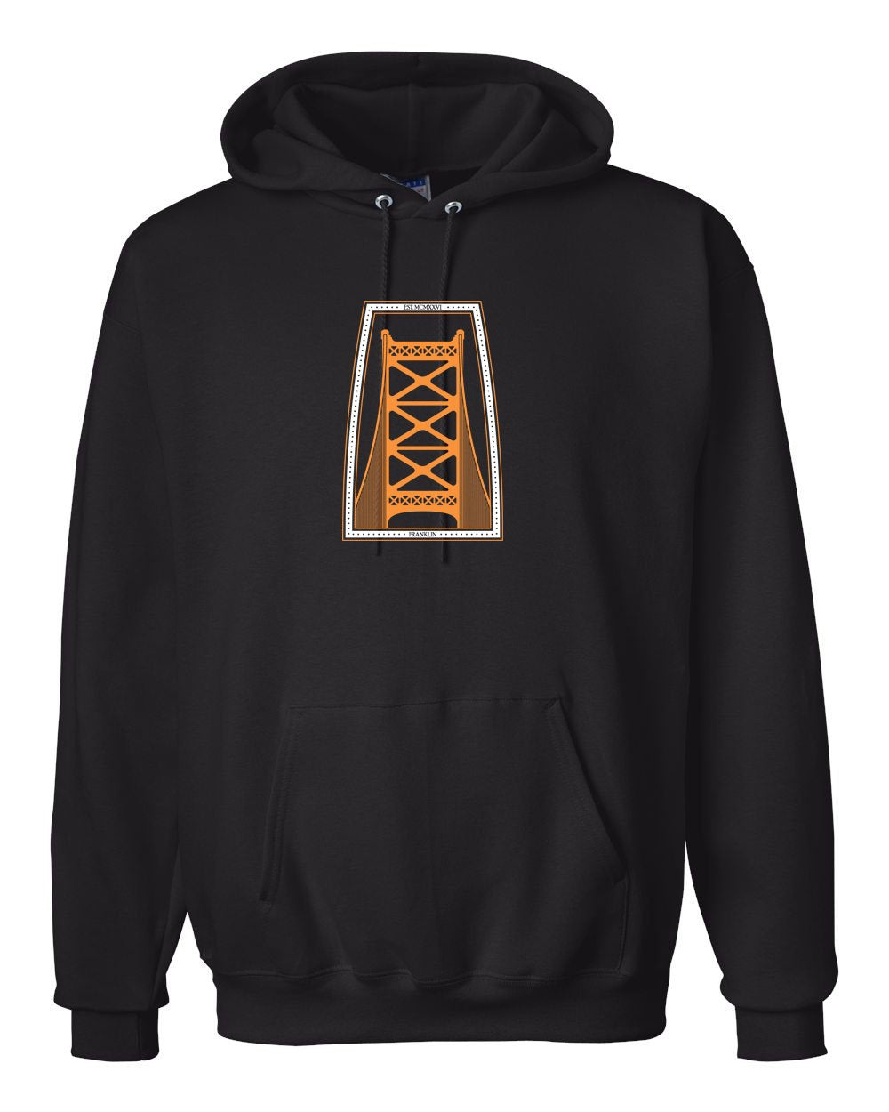 Ben Franklin Bridge Hockey Hoodie