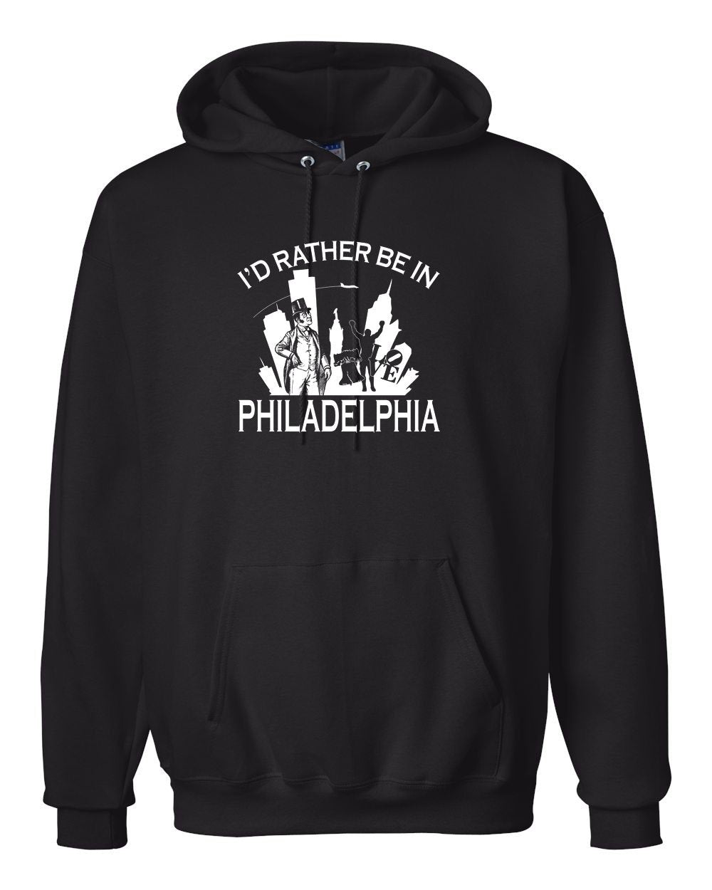 I'd Rather Be In Philly Hoodie