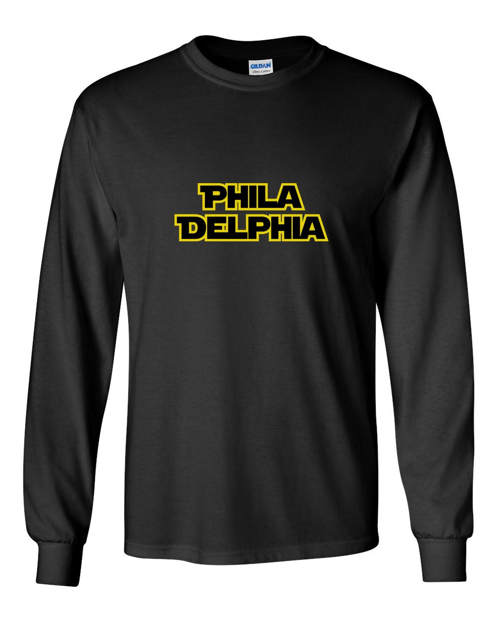 Philly Wars MENS Long Sleeve Heavy Cotton T-Shirt