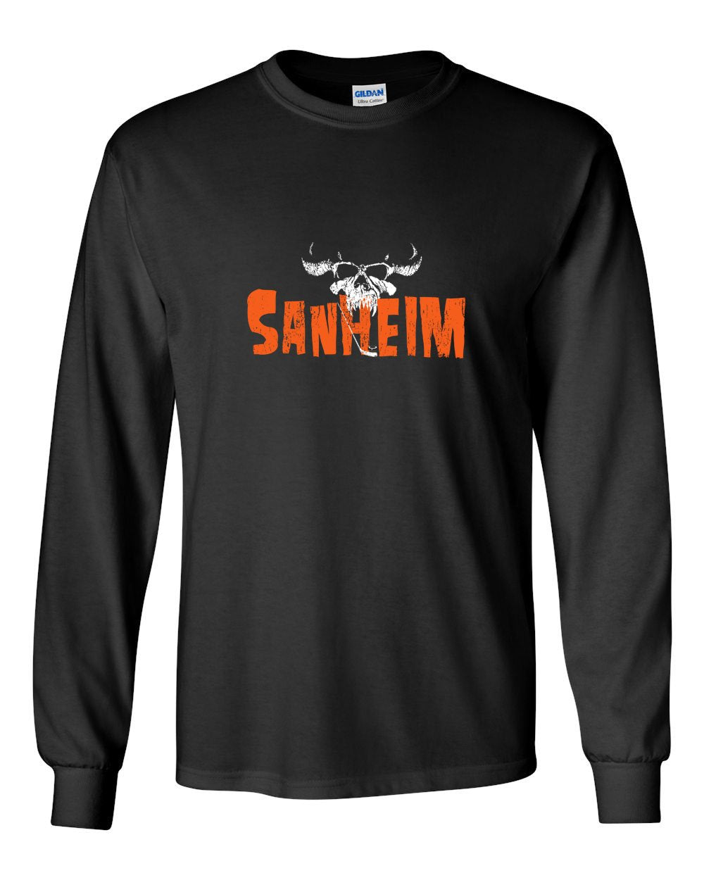 Sanheim MENS Long Sleeve Heavy Cotton T-Shirt