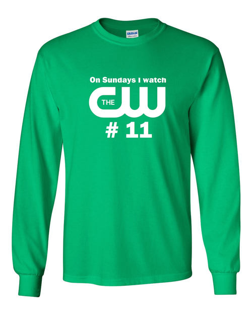 CW11 MENS Long Sleeve Heavy Cotton T-Shirt