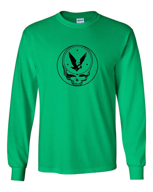 Grateful Birds MENS Long Sleeve Heavy Cotton T-Shirt