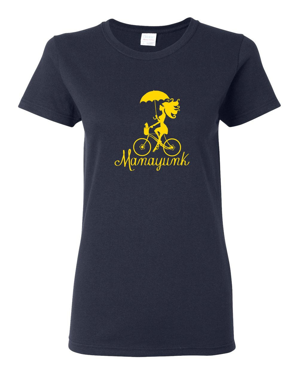 Manayunk Bike LADIES Missy-Fit T-Shirt
