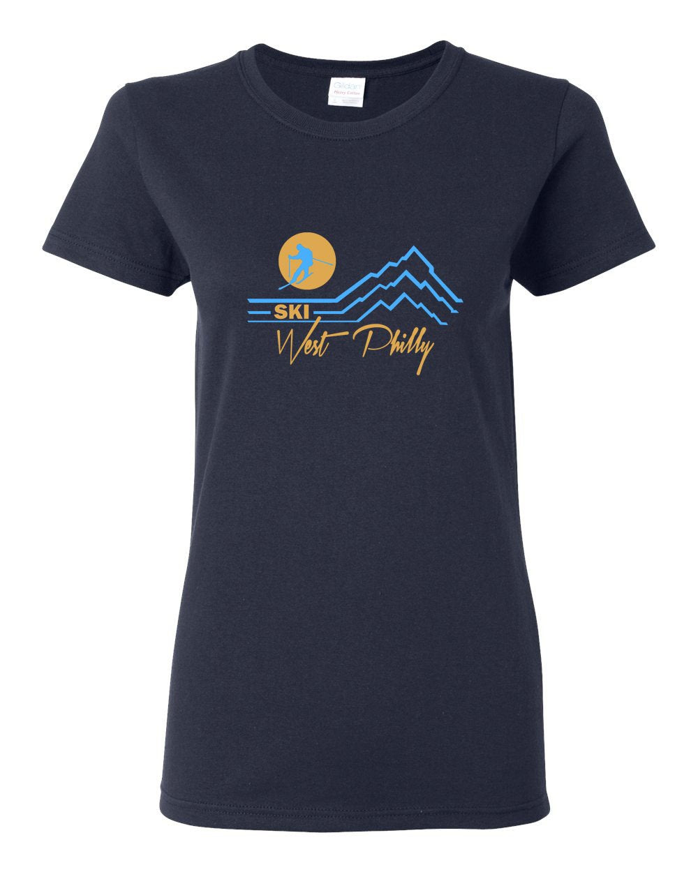 Ski West Philly LADIES Missy-Fit T-Shirt