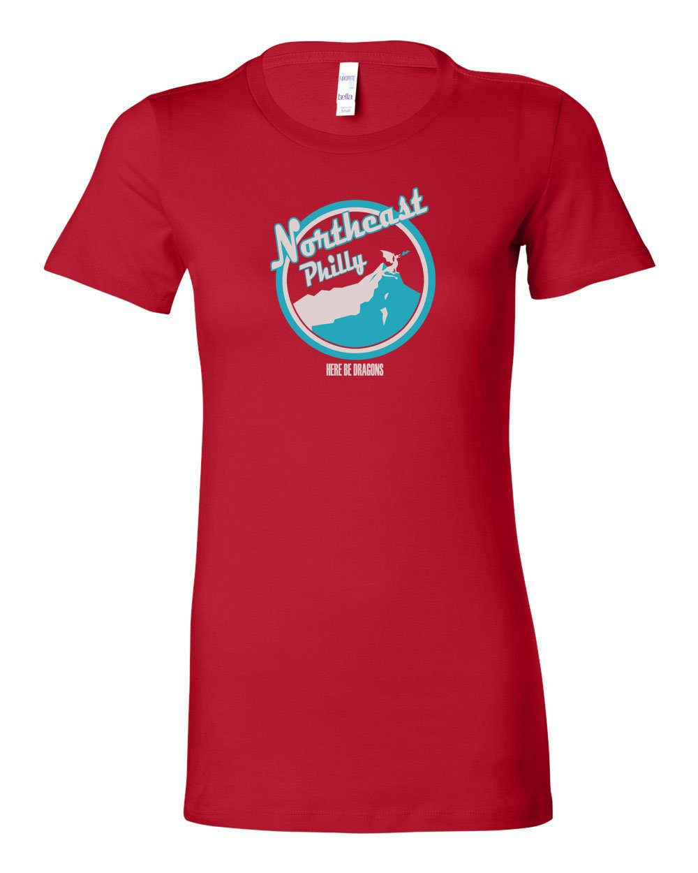 Northeast Philly LADIES Junior-Fit T-Shirt