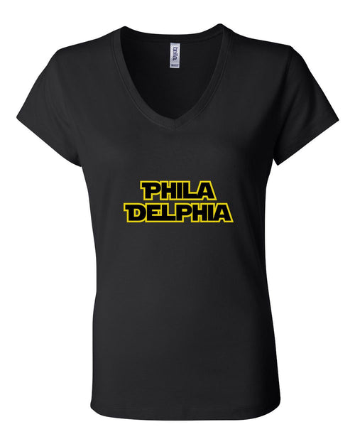 Philly Wars LADIES Junior Fit V-Neck