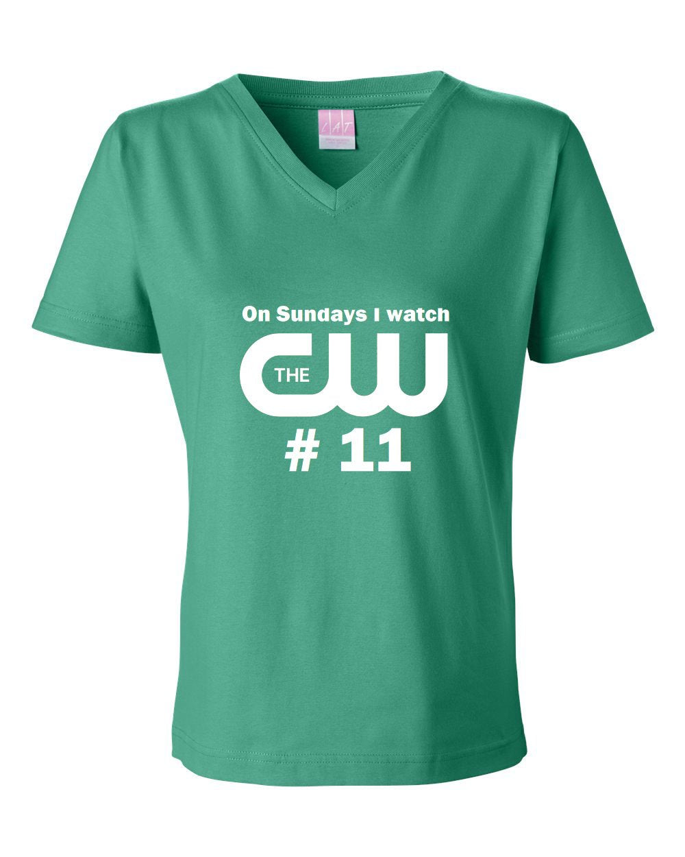 CW11 LADIES Junior Fit V-Neck