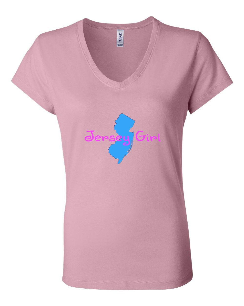 Jersey Girl LADIES Junior Fit V-Neck
