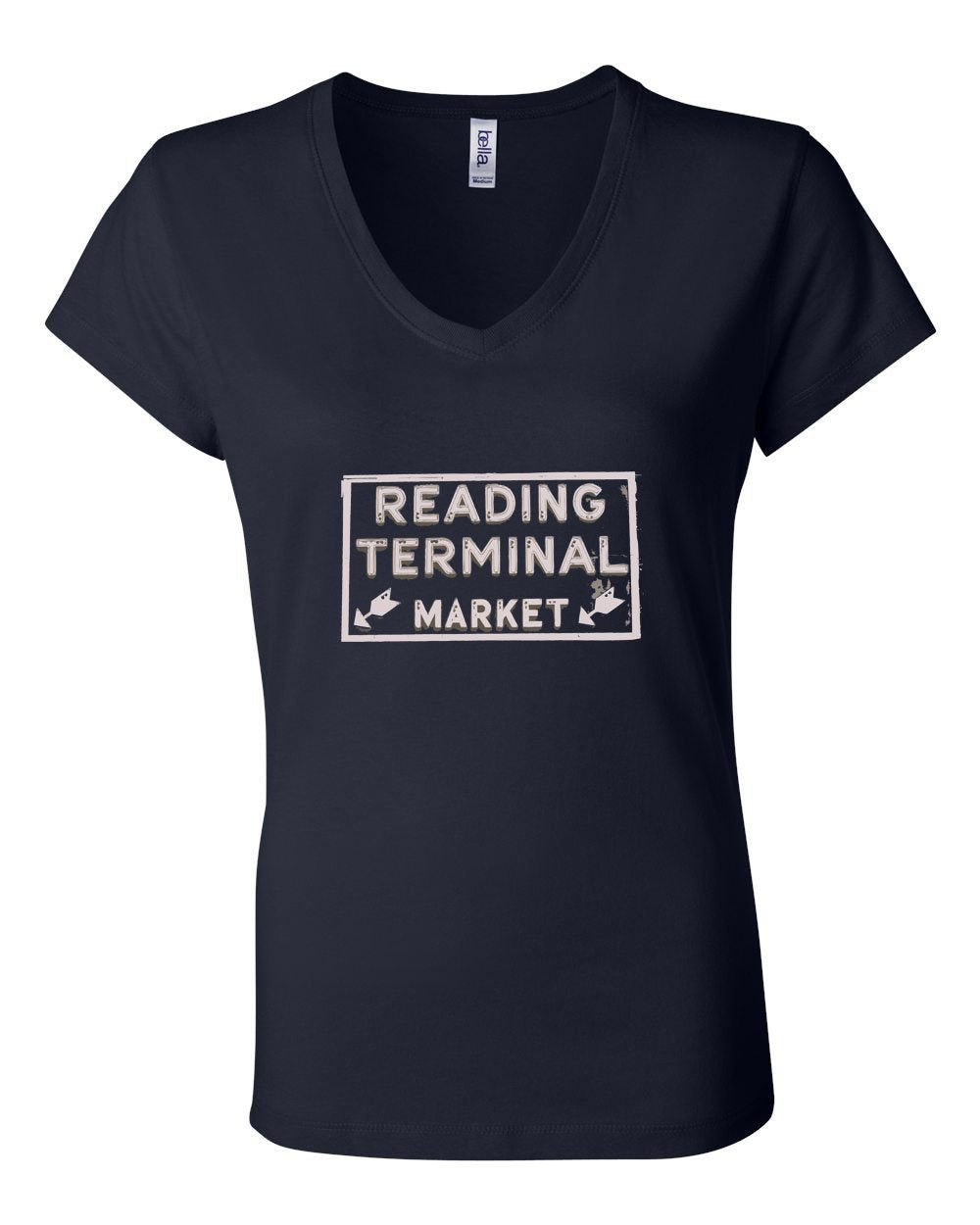 Reading Market LADIES Junior Fit V-Neck