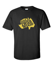 Collingswood Yellow Logo Mens/Unisex T-Shirt