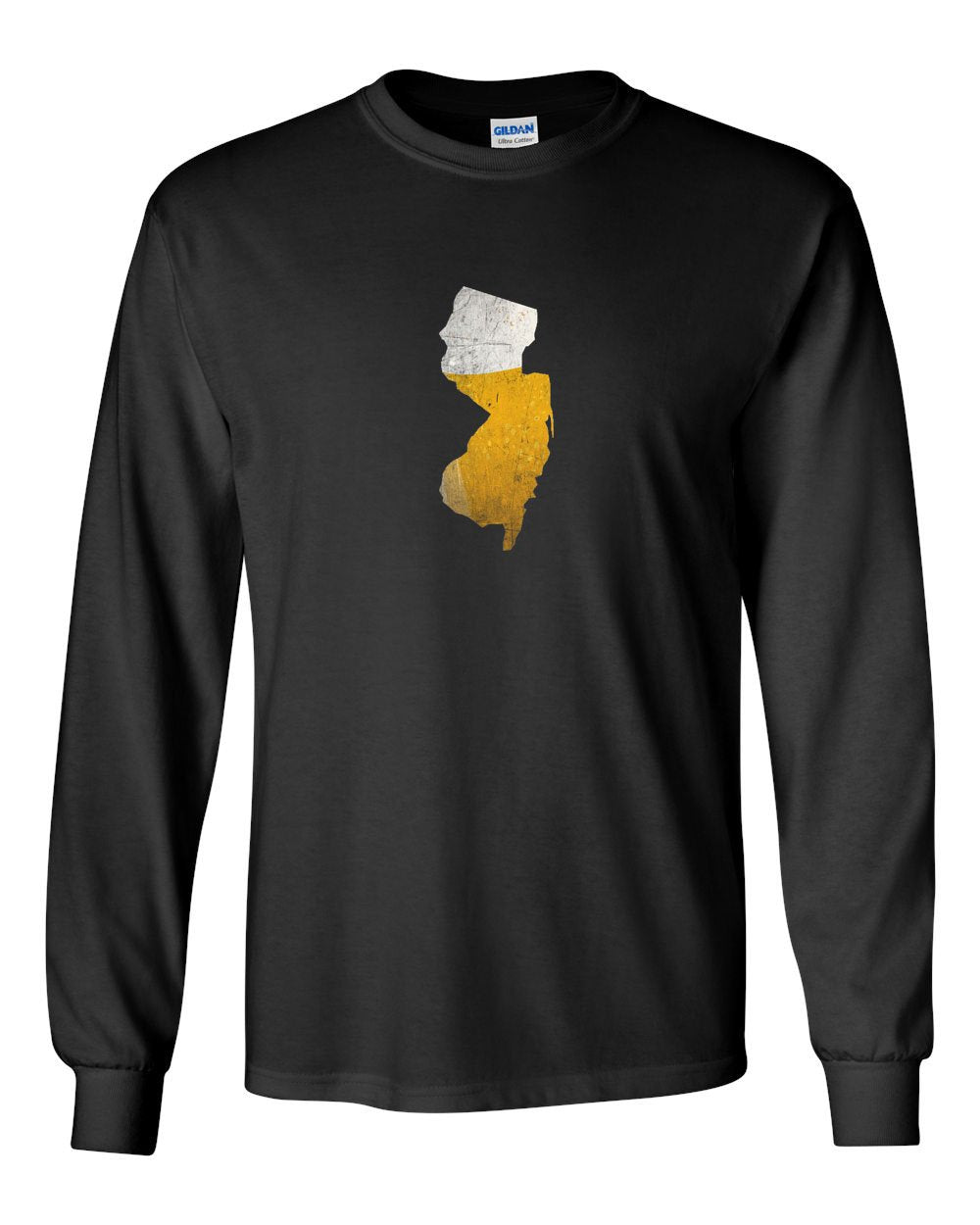 NJ Beer MENS Long Sleeve Heavy Cotton T-Shirt