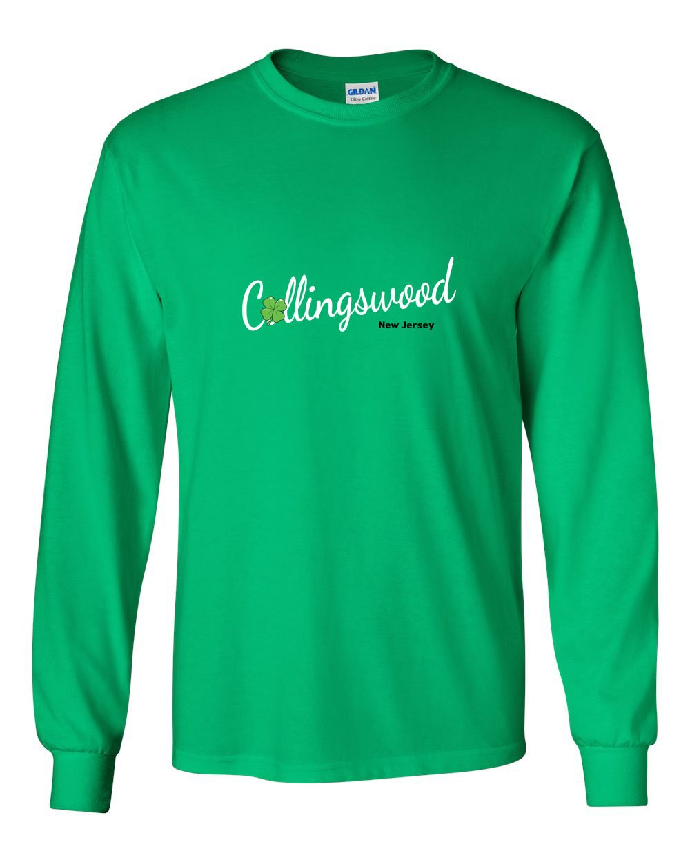 Irish Collingswood MENS Long Sleeve Heavy Cotton T-Shirt