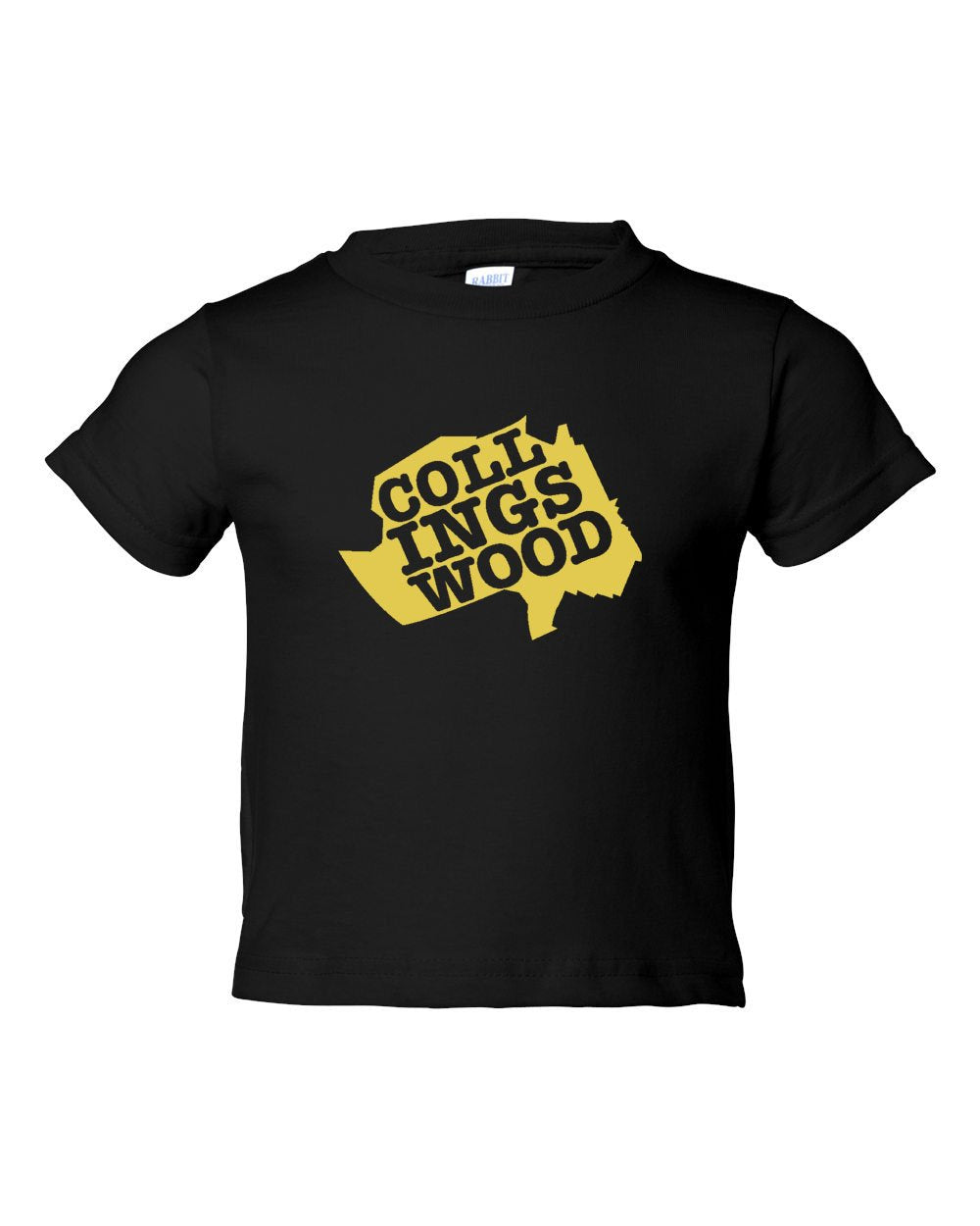 Collingswood Yellow Logo TODDLER T-Shirt