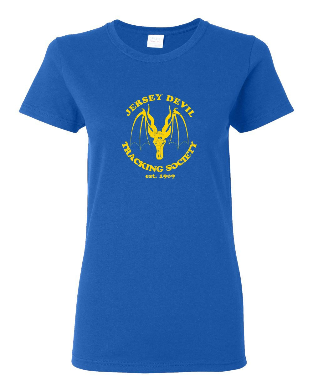 Jersey Devil Tracking LADIES Missy-Fit T-Shirt