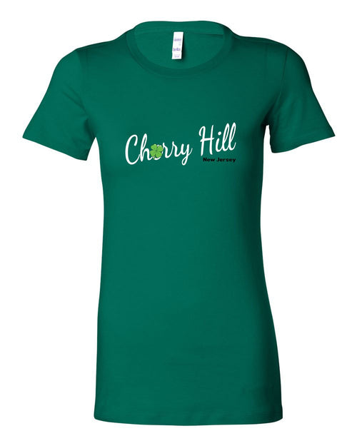 Irish Cherry Hill LADIES Junior-Fit T-Shirt