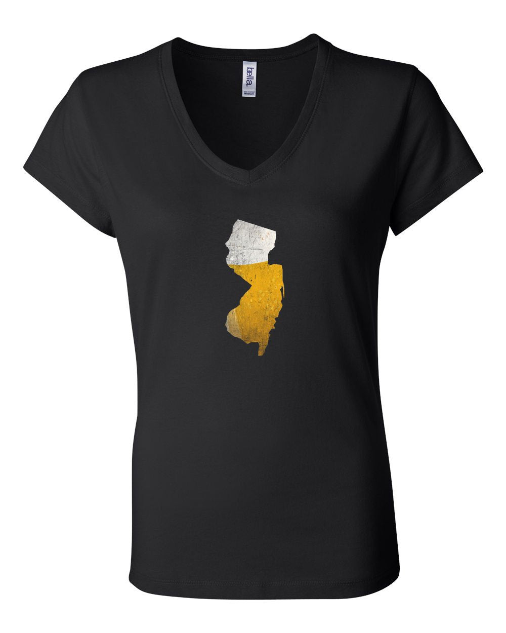 NJ Beer LADIES Junior Fit V-Neck
