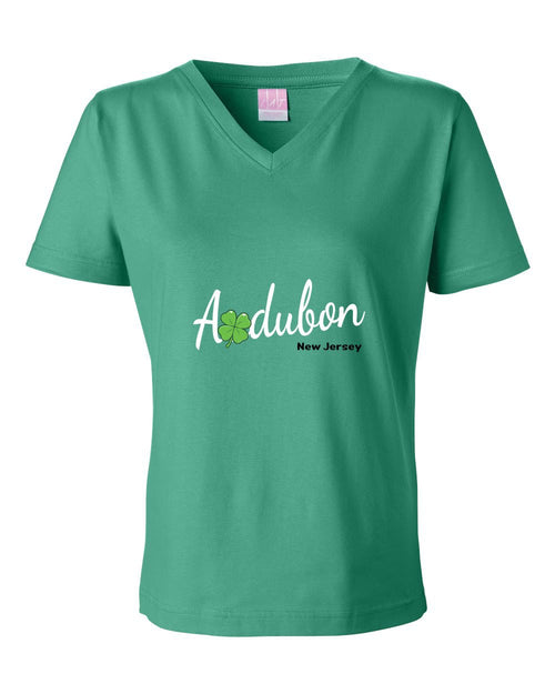 Irish Audubon LADIES Junior Fit V-Neck