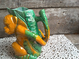Majolica Monkey Pitcher