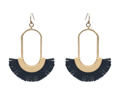 The Gold Tassel Earring